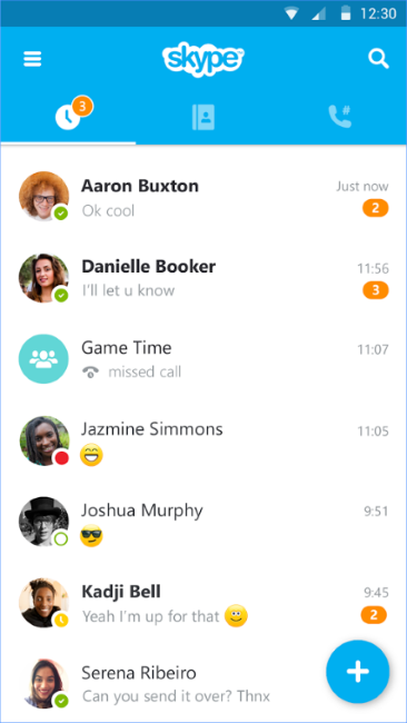 Скачать скайп на андроид бесплатно. Skype для телефона или.