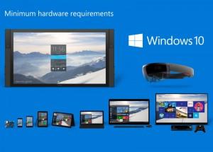 windows 10 minimum hardware requirements